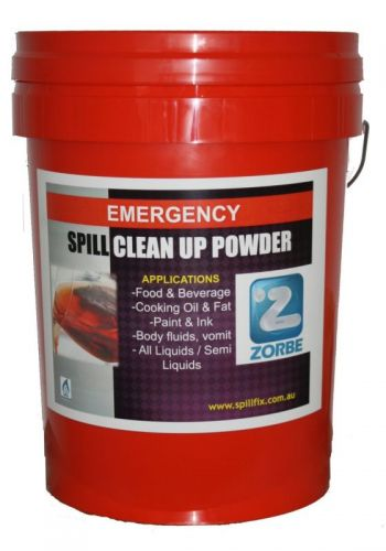 Zorbe indoor spill clean up kit for pubs, hotels, kitchens, nighclubs, public venues
