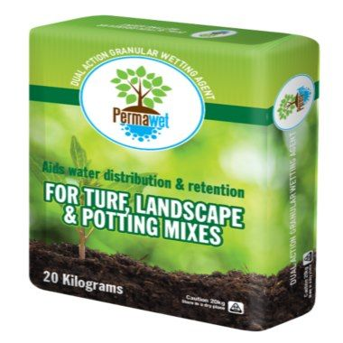 Permawet granular soil wetting agent