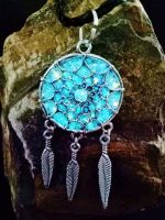 Dream catcher  glow pendants