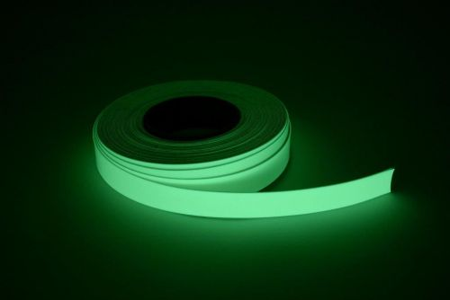 Glow in the dark 25mm PVC tape