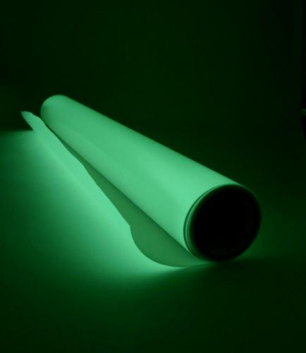 Glow in the dark photoluminescent film - standard glow