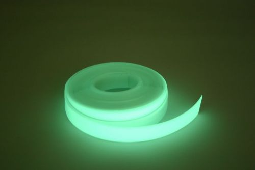 Glow in the dark tape 50mm PVC