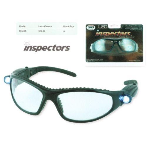 LED Light Inspector Glasses