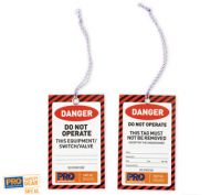 All Weather Safety Tags Danger