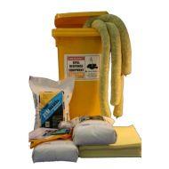120 litre Hazchem Wheelie Bin Spill Kit