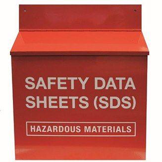 Material safefty data sheet storage station