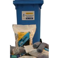 120 Ltr Oil Fuel Wheelie Bin Spill Kit
