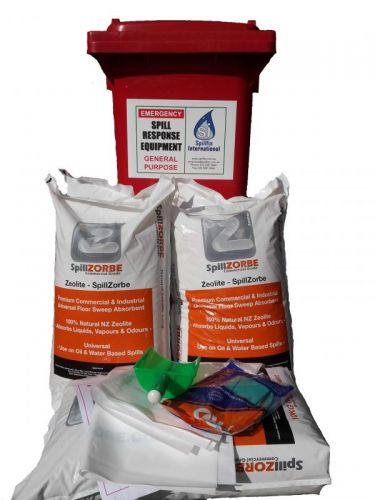Ultra economical wheelie bin spill kit